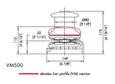 Manual Vertical 500