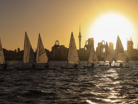 Sail with us; Thursday laser twilight series