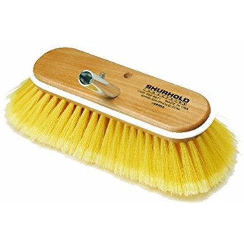 """Shurhold Yellow Deck Brush Soft 10"""""""