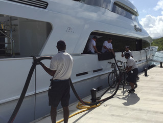 Bunkering benefits as yachts prepare for end of season crossing