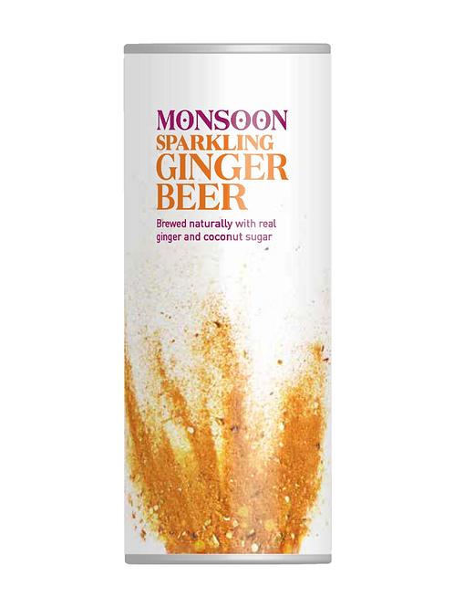 Monsoon Sparkling Ginger Beer 4 pack