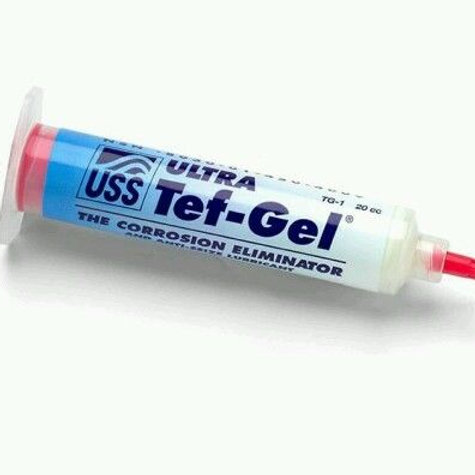 Ultra Tef-Gel Anti-Sieze Syringe TG-1 20cc