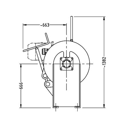 SD3 Custom designed 3 tonne winches