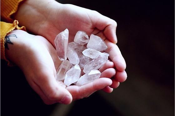 méditation guidée aux pierres
