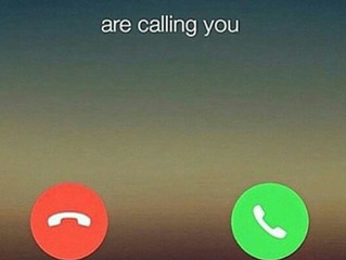 Have You Picked Up The Phone For Your Dreams Lately?