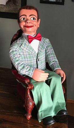 vintage ventriloquist dummy, ventriloquist doll, ventriloquit figure, Oddity