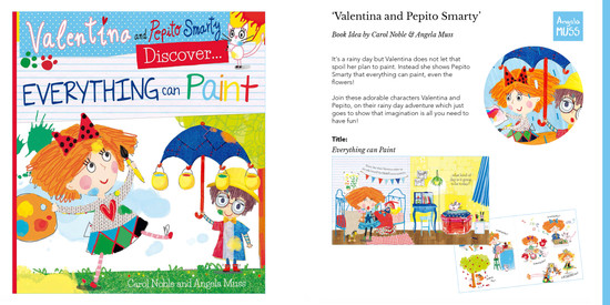 'Valentina and Pepito Smarty' Book Idea by Carol Noble & Angela Muss