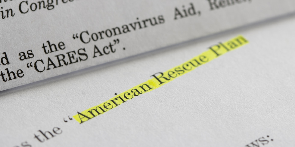 ATAA Online Discussion: Tribes and The American Rescue Plan