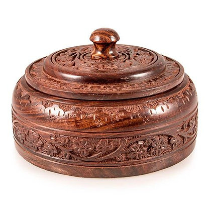 Traditional Wooden DABBA
