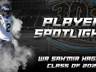 Player Spotlight: WR Sah'mir Hagans (Class of 2021)