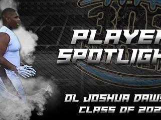 Player Spotlight: OL Joshua Dawson (Class of 2021)