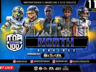 North Top 100 11U RANKINGS!!!