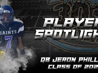 Player Spotlight: QB Jeron Phillips (Class of 2021)