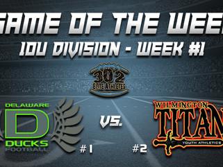 10U Game of Week (Week #1) - Ducks vs. Titans
