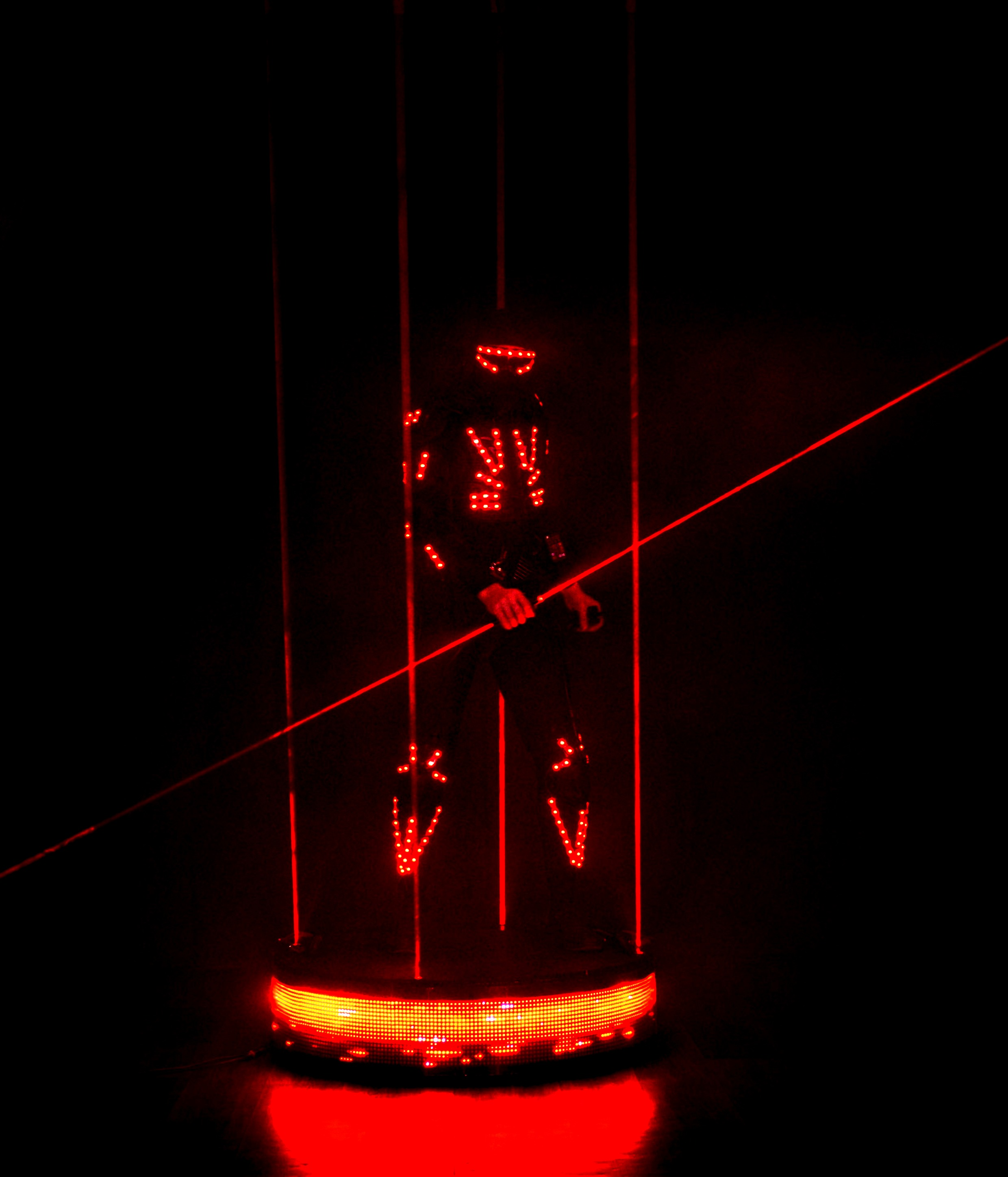 LEDART laser