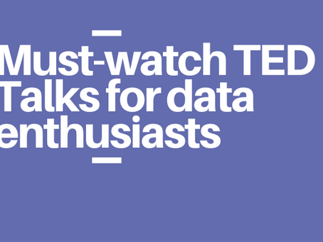 Must-watch TED Talks for data enthusiasts