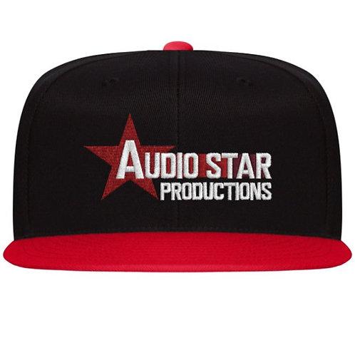 Audio Star Productions Flexfit Flat Bill Cap