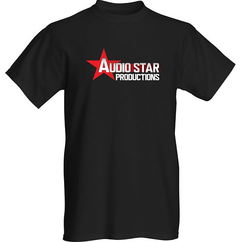 Audio Star Productions T-shirt Black
