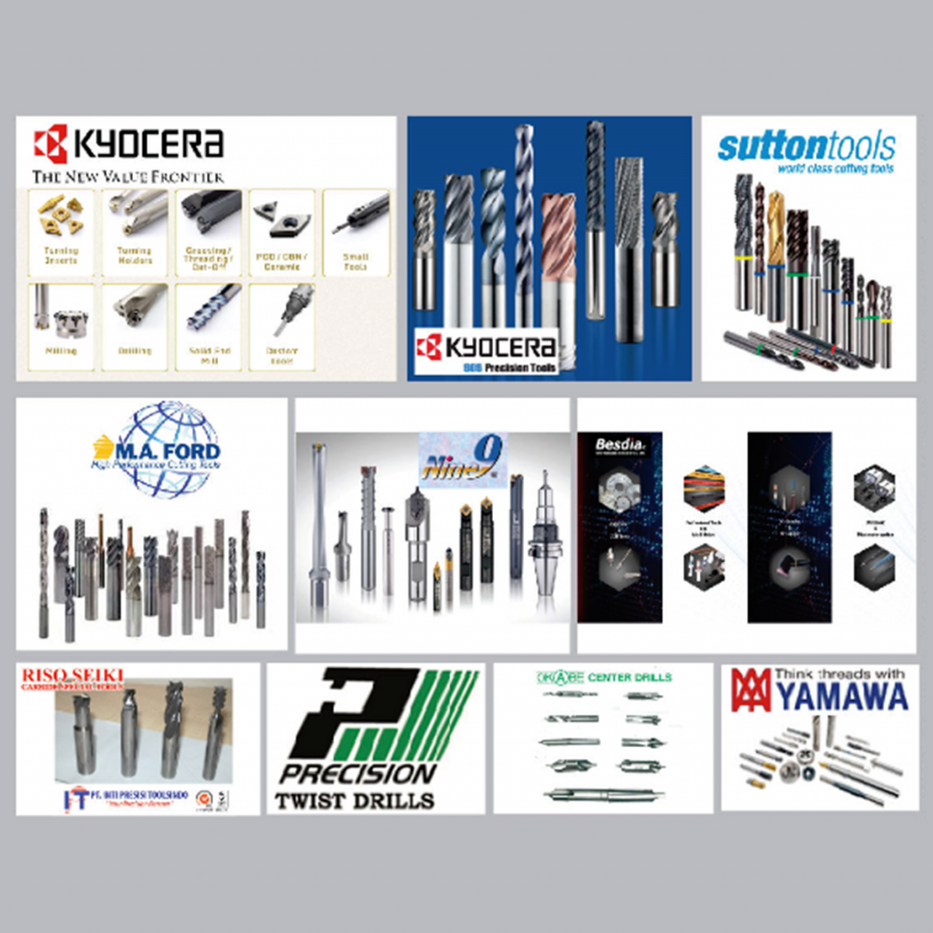 machine and metal cutting tools