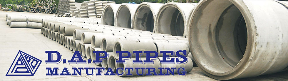 DAP Pipes Manufacturing Concrete Pipes