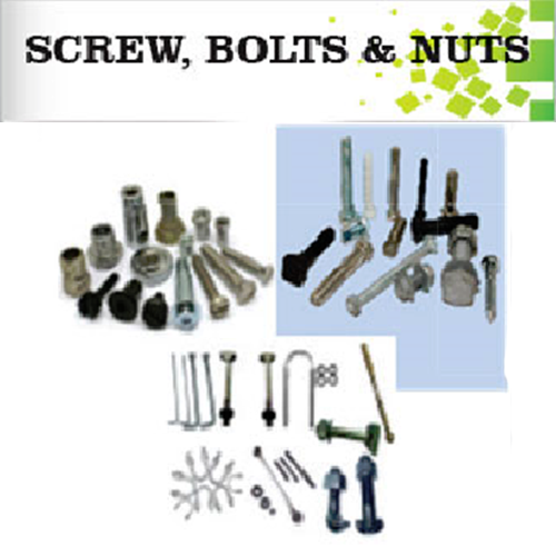 screw, bolts and nuts