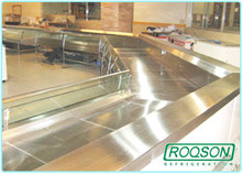 Reach-In refrigeration units and Display Showcases