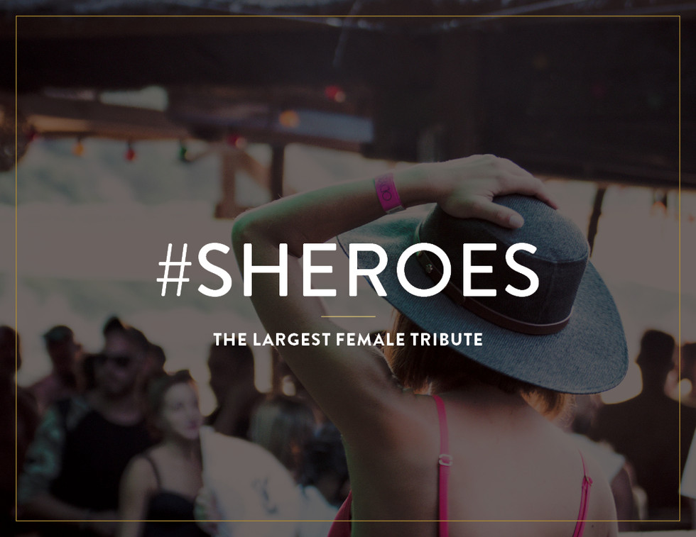 #Sheroes, the LARGEST female tribute, presented by #WE movement, the nation's largest #empowerment campaign