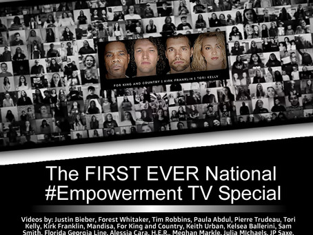 #We_Together, FIRST EVER #Empowerment TV Special Comes to National TV