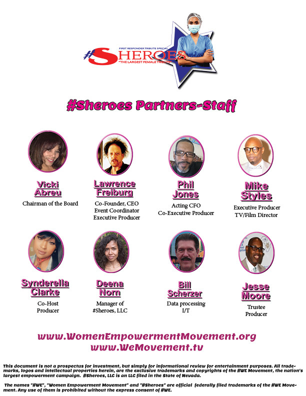 #Sheroes , the largest female tribute, presented by the #WE Movement/ Women Empowerment Movement