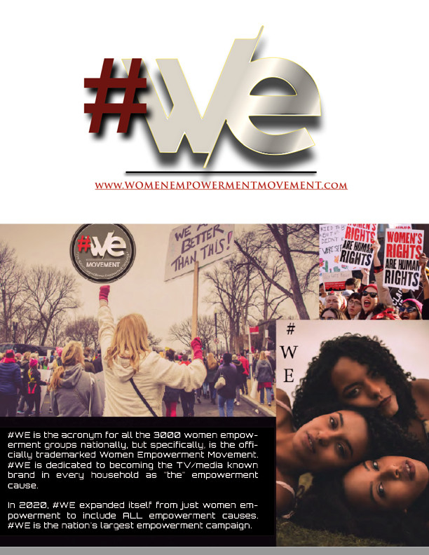 #We Movement, the official Women Empowerment Movement, and the nation's largest empowerment campaign