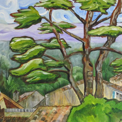 Gerri Young, View from the Park, Noves,