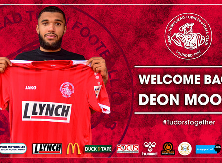 WELCOME BACK   Deon Moore