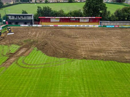 Day One - Pitch renovation