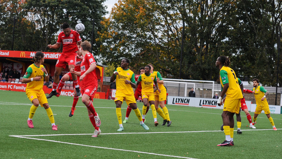 Hemel unlucky not to take all three points against Welling