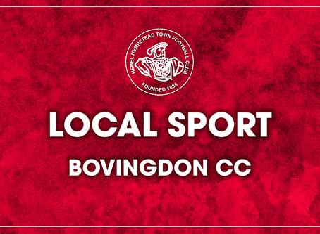 Local Sport - Bovingdon CC v Lord's Taverners