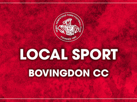 Local Sport - Bovingdon CC v Lord's Taverners