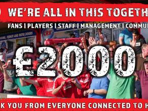 £2000 raised!