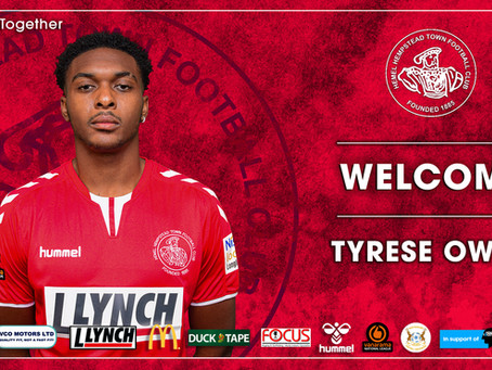 WELCOME | Tyrese Owen