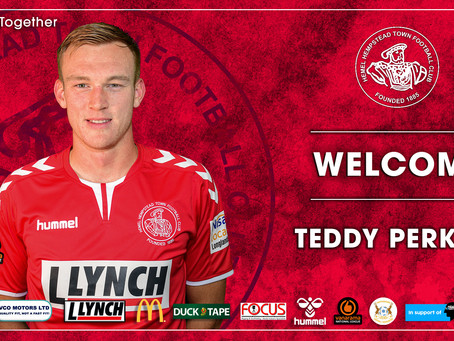 LOAN MOVE | Teddy Perkins joins the club