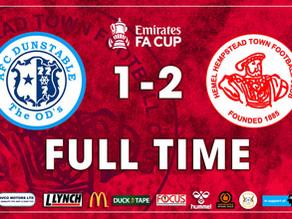 MATCH REPORT | AFC Dunstable 1-2  Hemel Hempstead Town