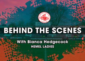 BEHIND THE SCENES | Bianca Hedgecock