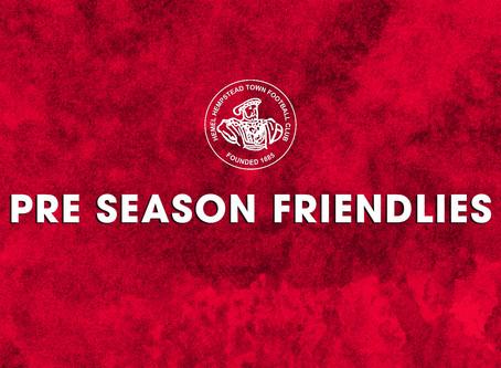 Pre-Season Friendlies