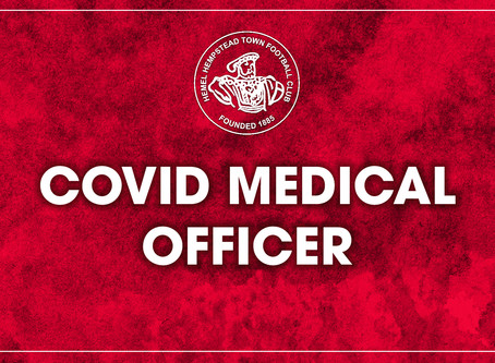 COVID-19 Medical Officer Needed