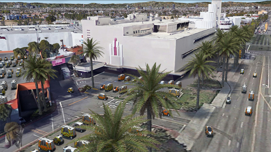Market Centers as AV Transit Depots
