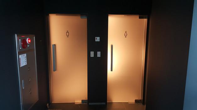 화장실 썬팅