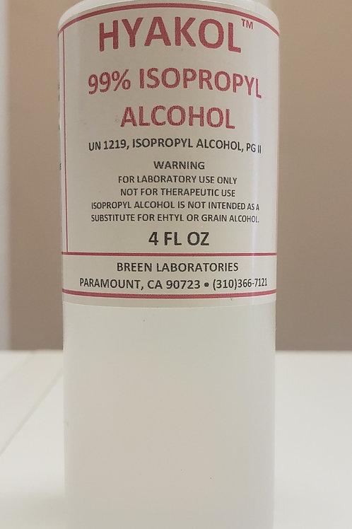 Hyakol 99% Isopropyl Alcohol