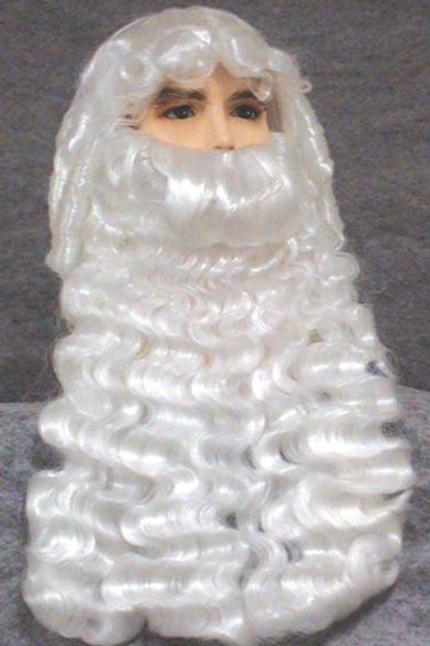 Deluxe Santa Clause Wig Set By Wig America