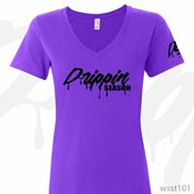 Purple& Black Drippin Season