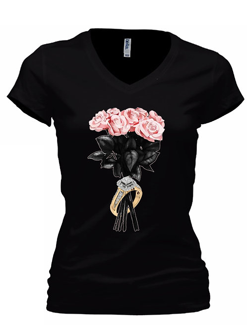 Black Rose & Ring T
