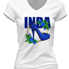 blue heel